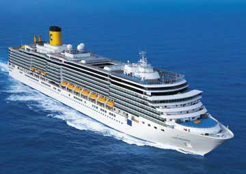 On Holiday with Costa Cruises!
